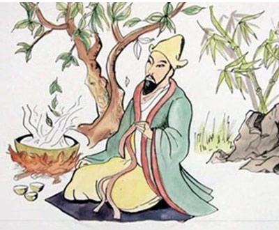 Historia herbaty i Cesarz Shennong