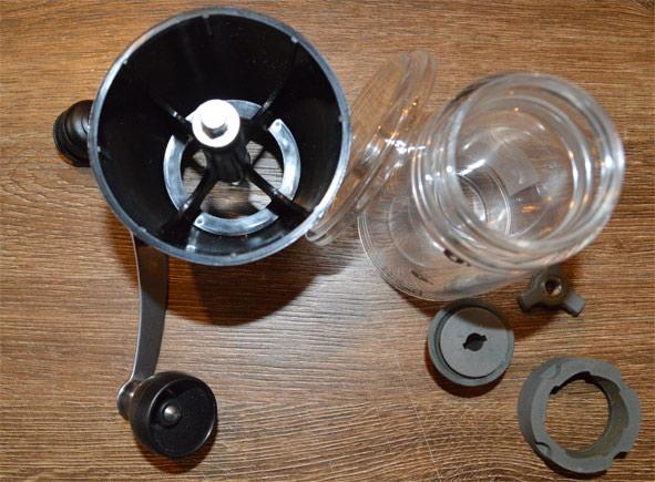 HARIO Mini Mill Slim - ręczny młynek do kawy