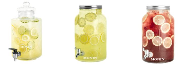 Lemoniady w słojach Monin