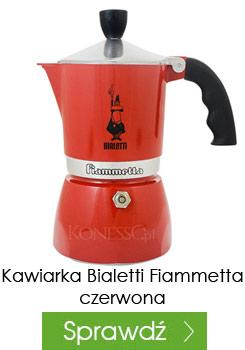 Kawiarka Bialetti Fiammetta czerwona 3 filiżanki
