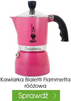 Kawiarka Bialetti Fiammetta fuksja 3 filiżanki