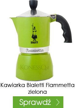 Kawiarka Bialetti Fiammetta zielona 3 filiżanki