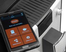 Nowoczesny system Bluetooth w ekspresie automatycznym Nivona 670