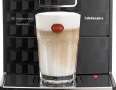 Nivona 788 posiada funkcję one touch cappuccino